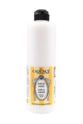 Cadence Boya Su Bazlı Yarı Mat Vernik 500 ml. 0