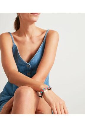 Twist Kadın Mavi Pul Dizgi Bileklik 1