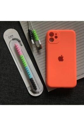 SUPPO Iphone 11 Kamera Korumalı Model Logolu Lansman Kılıf Kablo Koruyucu 0