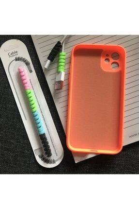 SUPPO Iphone 11 Kamera Korumalı Model Logolu Lansman Kılıf Kablo Koruyucu 1