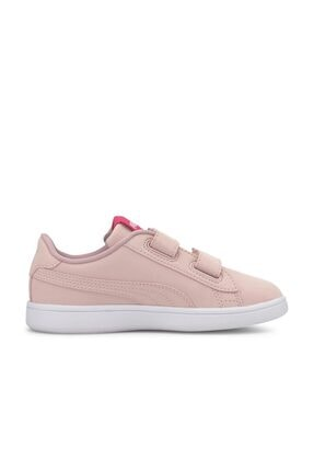 Puma SMASH V2 CNDY V PS Pembe Kız Çocuk Sneaker Ayakkabı 101119308 1