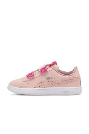 Puma SMASH V2 CNDY V PS Pembe Kız Çocuk Sneaker Ayakkabı 101119308 2