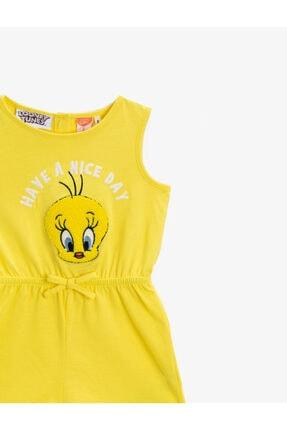 Koton Kız Bebek Pamuklu Tweety Elbise 2