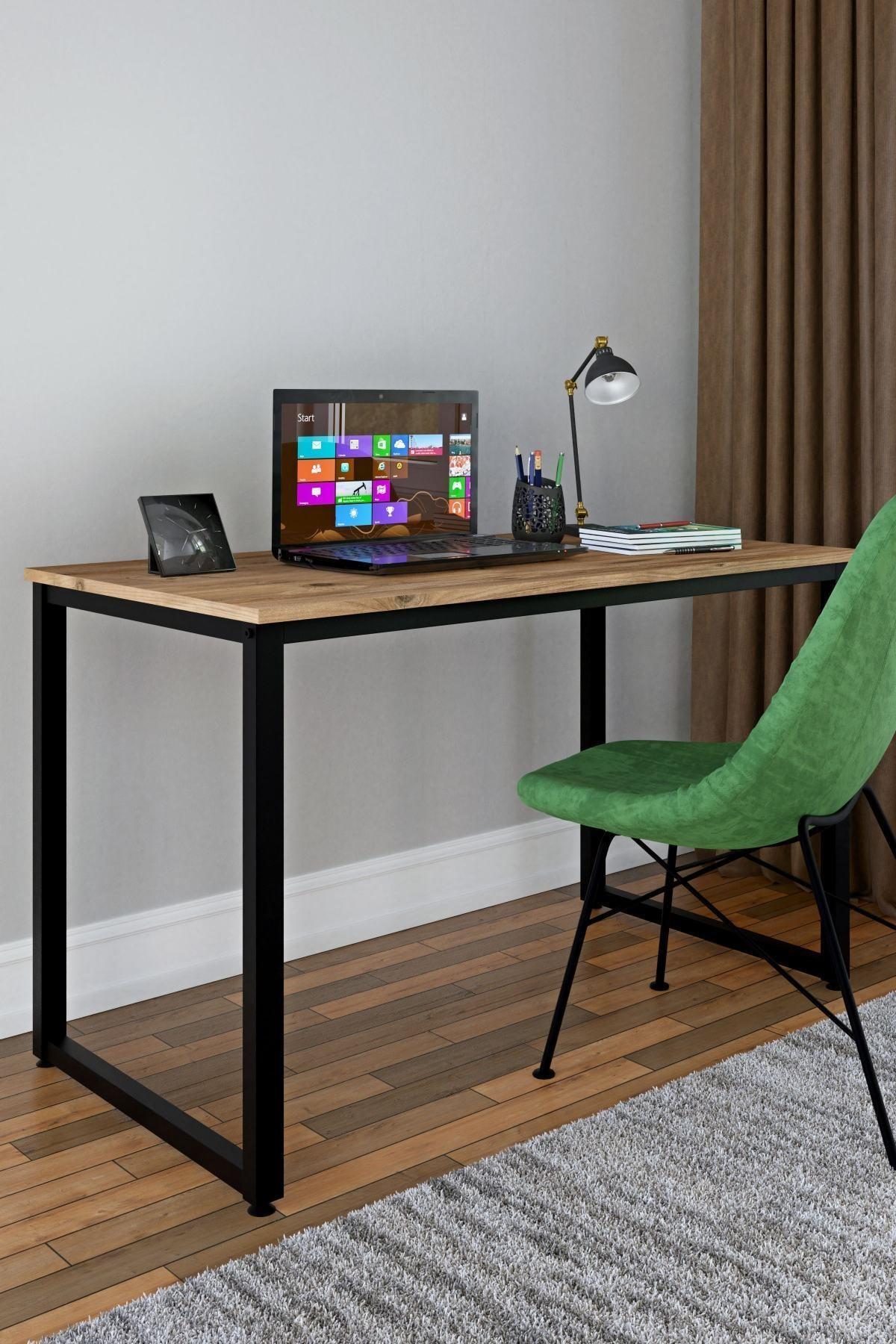 60 X 120 Cm Çalışma Masası Bilgisayar Masası Ofis Masası - Atlantik Çam
