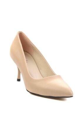 Bambi Nude Kadın Klasik Topuklu Ayakkabı K01842094009 2