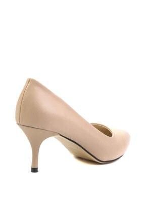 Bambi Nude Kadın Klasik Topuklu Ayakkabı K01842094009 3
