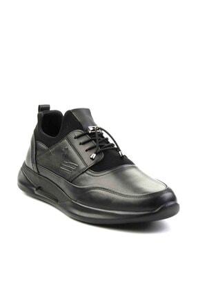 Bambi Hakiki Deri Siyah Erkek Casual Ayakkabı E01556005603 2