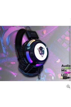 Yoro V8 Mikrofonlu Oyuncu Kulaklığı Yeni Rgb Led Işıklı Kulaklık 1