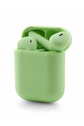 TrkTech Airpods  I12 Yeşil Bluetooth Kulaklık Tüm Telefonlar İle Uyumlu 2