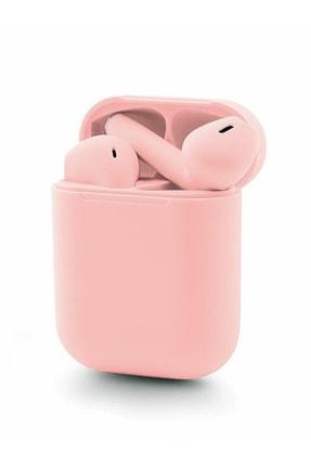 TrkTech Airpods 2.Nesil i12 Pembe Bluetooth Kulaklık Muhteşem Ses Performansı 2
