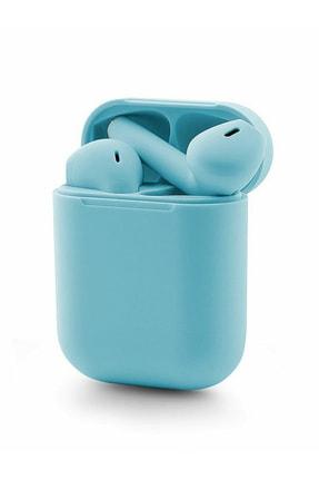 TrkTech Airpods i12 Mavi Bluetooth Kulaklık Tüm Telefonlar ile Uyumlu 2