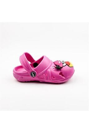 Akınalbella Kız Çocuk Pembe Sandalet 0