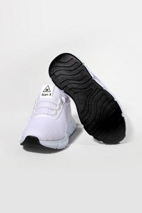 Pukka Collection Unisex Çocuk Beyaz Bağcıksız Spor Spor Ayakkabı 2