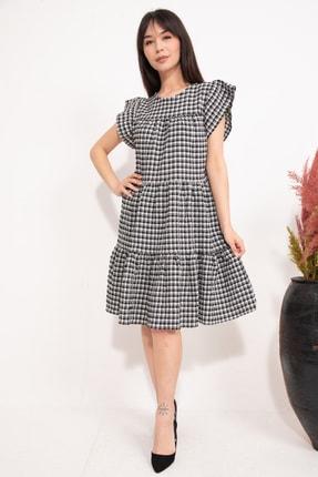 Pötikareli Kloş Elbise GSDGEL00161