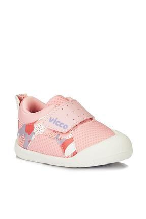 Vicco Kız Çocuk Pembe Bebe Ayakkabı 0
