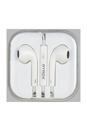 Syrox Iphone Tip Stereo Kulaklık 0