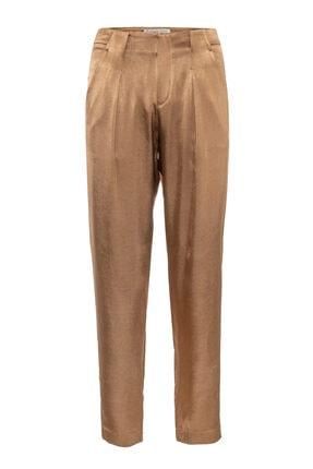 Kadın Altın Pileli Pantolon TR1001