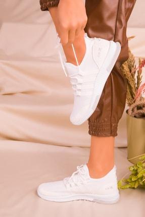 Soho Exclusive Beyaz Kadın Sneaker 16278 1