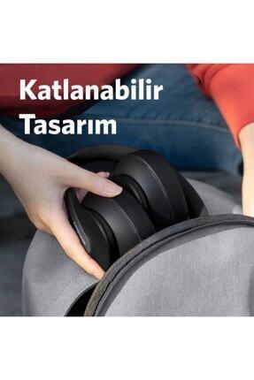 Anker A3032 Soundcore Life Q10 Kablosuz Bluetooth 5.0 Kulaklık - 60 Saate Varan Şarj - Siyah Gri - 3