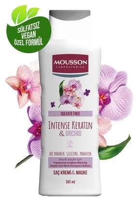 Mousson Yoğun Keratin&orkide Içeren Renk Koruyucu Ve Yıpranmayı Onaran Saç Bakım Krem Ve Maskesi 365 ml 0