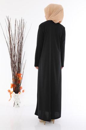 medipek Kadın Fermuralı Namaz Elbisesi Ferace 2