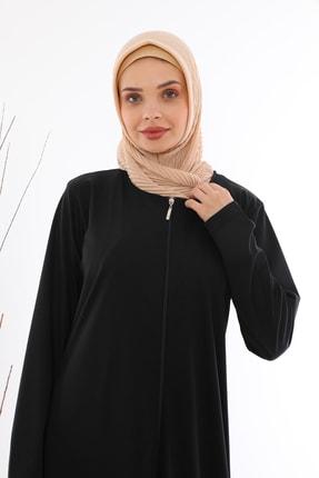 medipek Kadın Fermuralı Namaz Elbisesi Ferace 3