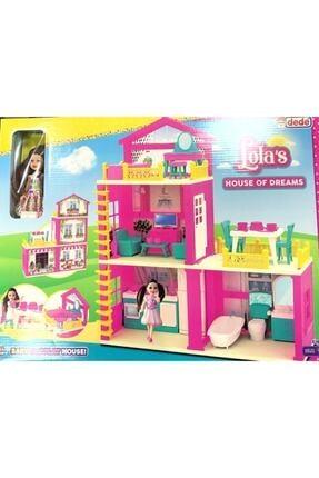 Fillikutum Lola'nın Düşler Evi 3 Katlı Aksesuarlı 2