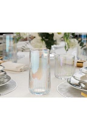 English Home Rio Cam 4'lü Meşrubat Bardağı 360 Ml Renkli 1