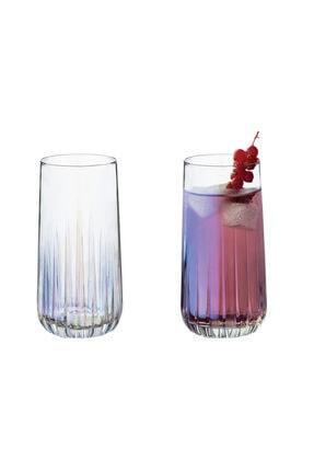 English Home Rio Cam 4'lü Meşrubat Bardağı 360 Ml Renkli 2