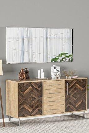 bluecape Antre Hol Koridor Dresuar Konsol Duvar Salon Mutfak Banyo Wc Ofis Çocuk Yatak Aynası  60x130cm 4