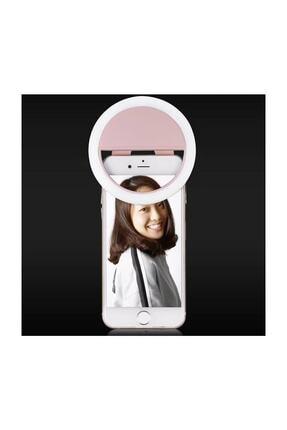 Sentor Şarjlı Led Selfie Işığı Led Ring Light Halka Telefon Işığı 36 Led 3 Kademeli 3