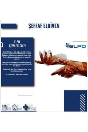 Şeffaf Eldiven 100 Adet Poşet Eldiven TK101 ELDIVEN