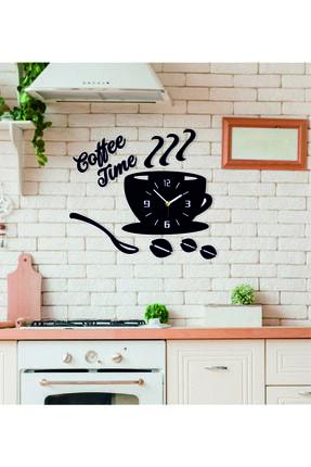 Penta Dekoratif Kahve Zamanı Mutfak Duvar Saati Ve Aksesuarları 0