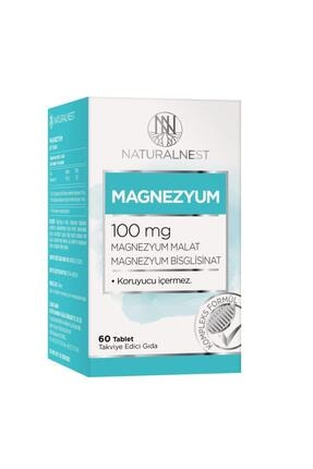 Orzax Naturalnest Magnezyum 100 Mg 60 Tablet 0