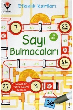 Tübitak Yayınları Sayı Bulmacaları / Etkinlik Kartları 0
