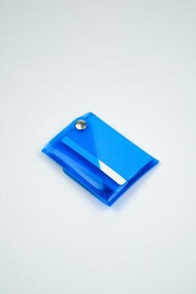 Badger Collection Katlanır Cüzdan - Unisex Kartlanır Mavi 4