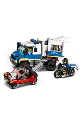 LEGO ® City Mahkum Nakliye Aracı 60276 - Çocuklar için Oyuncak Yapım Seti 244 Parça 1
