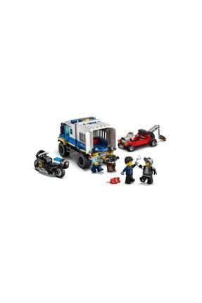 LEGO ® City Mahkum Nakliye Aracı 60276 - Çocuklar için Oyuncak Yapım Seti 244 Parça 4