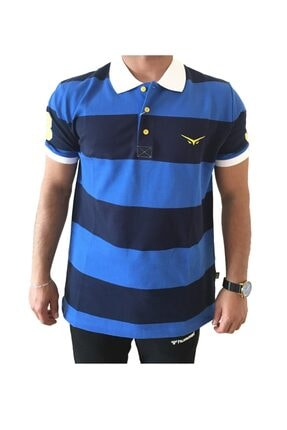 Picture of Erkek Lacivert Fenerbahçe Polo Yaka Lisanslı T-shirt