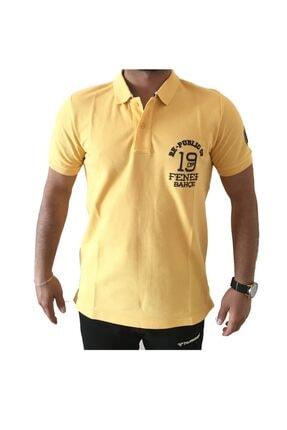 Picture of Erkek Sarı Fenerbahçe Polo Yaka Lisanslı T-shirt