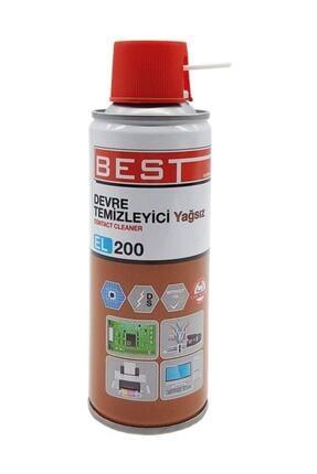 Best El200 Contact Cleaner 200 ml Yağsız Devre Temizleyici Sprey 0