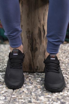Riccon Unisex Siyah Sneaker 001202 3
