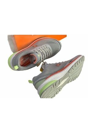 Lumberjack Kadın Açık Gri Memory Foam (hafıza Taban) Rahat Hafif Sneaker Spor Ayakkabı Cesar 1