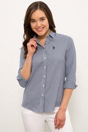 US Polo Assn Lacıvert Kadın Gömlek G082SZ004.000.1268458 0