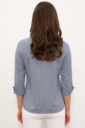 US Polo Assn Lacıvert Kadın Gömlek G082SZ004.000.1268458 2
