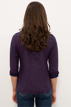 US Polo Assn Lacıvert Kadın Gömlek G082SZ004.000.1269063 2