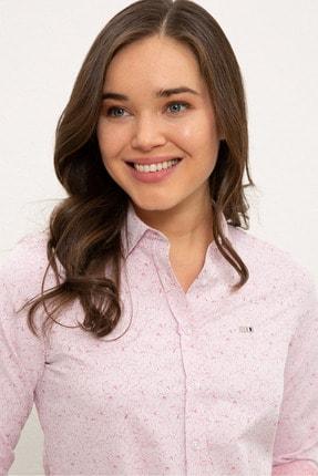 US Polo Assn Kırmızı Kadın Gömlek G082SZ004.000.1268469 1