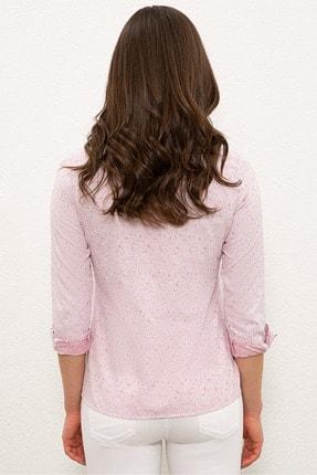 US Polo Assn Kırmızı Kadın Gömlek G082SZ004.000.1268469 2