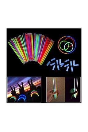Dolphin Glow Stick Fosforlu Çubuk 20 Adet 20 Adet 0