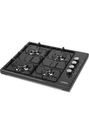 Luxell Lx-420 F Siyah Set Üstü Ocak Doğalgaz 0